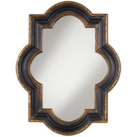 Pacific Coast Signature Mirror in Black with Gold 82-8883-B7