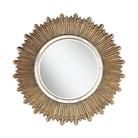 Pacific Coast French Sunburst Mirror in French Gold 82-8910-F2