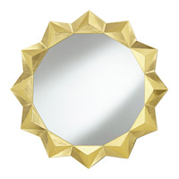 Pacific Coast Geometric Mirror in Soft Gold 82-8912-76