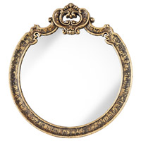 Pacific Coast Lady Tremaine Mirror in Estate Gold 82-9028-76