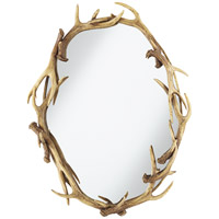Caribou 31 X 24 inch Natural Mirror Home Decor