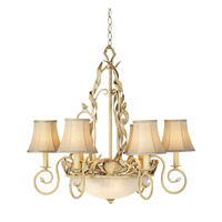 Pacific Coast Sandy Beach 1 Light Chandelier in Sandstone 84-9249-60