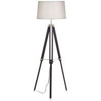 Tripod 57 inch 150 watt Espresso Floor Lamp Portable Light
