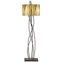Oak Vine 62 inch 200 watt Bronze Floor Lamp Portable Light