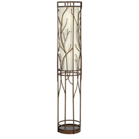 Whispering Willows 63 inch 200 watt Bronze Floor Lamp Portable Light