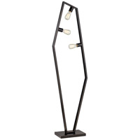 Hexamination 66 inch 120 watt Dark Bronze Floor Lamp Portable Light