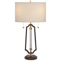 Pacific Coast 12W43 Hamilton 29 inch 150 watt Bronze Finish Table Lamp Portable Light