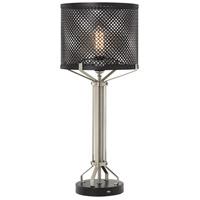 Pacific Coast 31H49 Cinder 27 inch 150 watt Black Table Lamp Portable Light