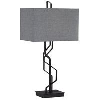Pacific Coast 20W61 Studio 30 inch 100 watt Black Table Lamp Portable Light Kathy Ireland