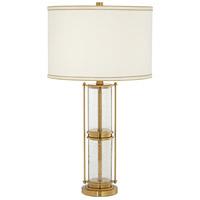 Pacific Coast 33E08 Tansy 28 inch 100 watt Antique Brass Table Lamp Portable Light