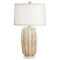 Pacific Coast 34P43 Cohen 30 inch 100 watt Champagne Table Lamp Portable Light