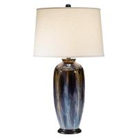 Pacific Coast 87-1113-23 Signature 33 inch 150 watt Steel Blue Table Lamp Portable Light