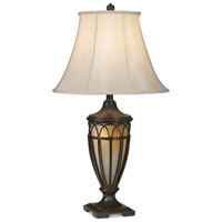 Pacific Coast Lexington 1 Light Table Lamp in Florida Bronze with Gold 87-1255-20