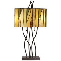 Pacific Coast Oak Vine 1 Light Table Lamp in Bronze 87-149-20