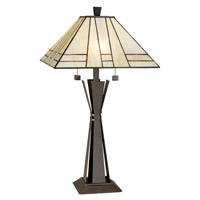 Citycraft 27 inch 150 watt Florida Bronze Table Lamp Portable Light