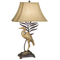 Pacific Coast Whispering Palms 1 Light Table Lamp in Sun-kissed Bronze 87-1585-22
