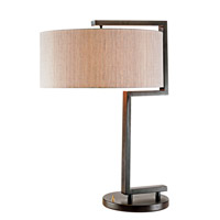 Pacific Coast The Urbanite 1 Light Table Lamp in Bronze 87-1697-20