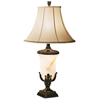 Garden Blossom 37 inch 157 watt Florida Bronze Table Lamp Portable Light
