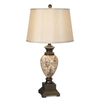 Pacific Coast 87-6317-20 Royal Empress 31 inch 150 watt Bronze with Faux Marble Table Lamp Portable Light