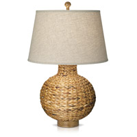 Seagrass 30 inch 150 watt Natural Table Lamp Portable Light