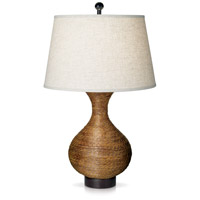 Pacific Reed Vase 32 inch 150 watt Wheat Table Lamp Portable Light