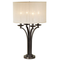 Pacific Coast 87-6517-20 Pennsylvania Country 31 inch 50 watt Florida Bronze Table Lamp Portable Light