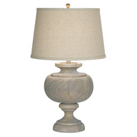 Grand Maison Large 30 inch 150 watt Weathered Woodland Table Lamp Portable Light