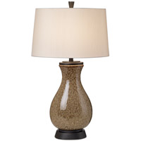 Pacific Coast Mystic Glaze 1 Light Table Lamp in Brown 87-6532-21
