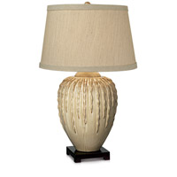 Cactus Reflections 29 inch 150 watt Beige Almond Table Lamp Portable Light
