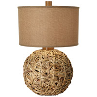 Seagrass 28 inch 150 watt Natural Parchment Table Lamp Portable Light