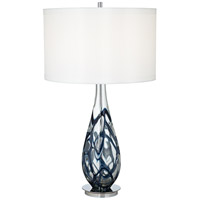 Pacific Coast Signature 1 Light Table Lamp in Blue 87-6910-23