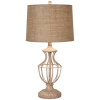 Pacific Coast Hampton 1 Light Table Lamp in Taupe-Decorated 87-6959-63