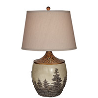 Pacific Coast 87-7163-03 Great Forest 30 inch 150 watt Antique Copper Table Lamp Portable Light