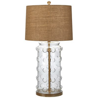 Pacific Coast Capstrano 1 Light Table Lamp in Clear 87-7234-29