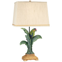 Pacific Coast 87-7265-81 Tropical Parrot 30 inch 150 watt Multicolor Table Lamp Portable Light