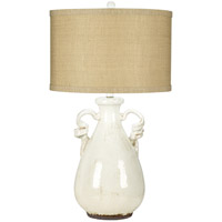 Pacific Coast 87-7359-70 Urban Pottery 29 inch 150 watt White Table Lamp Portable Light