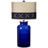 Sail Ahoy 28 inch 150 watt Regatta Blue Table Lamp Portable Light