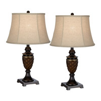 Pacific Coast Ankinara 1 Light Table Lamp in Bronze with Copper Highlights 87-7791-20
