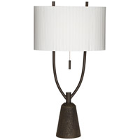Pacific Coast Virga 1 Light Table Lamp in Black 87-7858-07