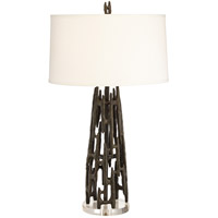 Pacific Coast 87-7889-07 Paragon 32 inch 150 watt Black Table Lamp Portable Light