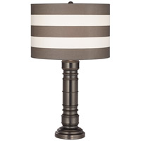 York Harbor 31 inch 150 watt Grey Table Lamp Portable Light