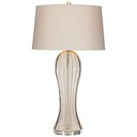 Pacific Coast 87-7975-2A Ocean Terrace 32 inch 100 watt Champagne Table Lamp Portable Light