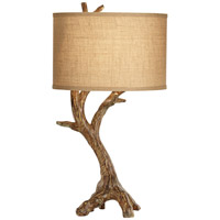 Beachwood 31 inch 150 watt Natural Table Lamp Portable Light