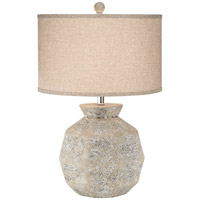 Igneous 27 inch 150 watt Natural Table Lamp Portable Light