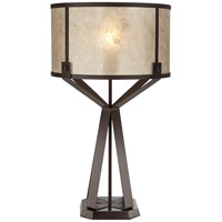 Pacific Coast 87-8258-68 Jasper 30 inch 150 watt Poly Dark Rust Table Lamp Portable Light