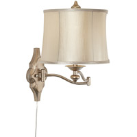 Pacific Coast Moroccan 1 Light Swing Arm Wall Lamp in Champagne 89-5762-2A
