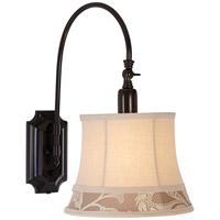Pacific Coast Jamestown 1 Light Swing Arm Wall Lamp in Bronze 89-5956-20