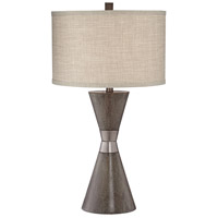 Pacific Coast 9K200 Kingstown 30 inch 100 watt Brown Table Lamp Portable Light