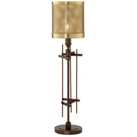 Pacific Coast 9D155 Dezi 30 inch 100 watt Oil Rubbed Bronze Table Lamp Portable Light