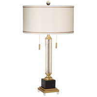 Pacific Coast 9P609 Candle Stick 33 inch 75 watt Silver Mercure Table Lamp Portable Light Kathy Ireland